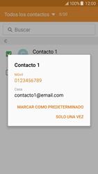 Samsung Galaxy J5 - Mensajería - Escribir y enviar un mensaje multimedia - Paso 8