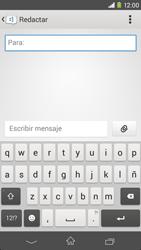 Sony Xperia M2 - Mensajería - Escribir y enviar un mensaje multimedia - Paso 5