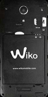 Wiko Tommy 2 - Premiers pas - Insérer la carte SIM - Étape 7