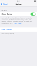 Apple Apple iPhone 7 - Device maintenance - Create a backup of your data - Step 13