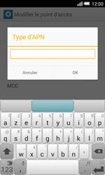 Alcatel Pop S3 (OT-5050X) - Internet - Configuration manuelle - Étape 14
