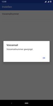Nokia 9 - Voicemail - handmatig instellen - Stap 13