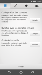 Sony Xperia Z2 - Contact, Appels, SMS/MMS - Ajouter un contact - Étape 4
