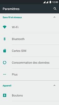OnePlus 2 - Internet - Activer ou désactiver - Étape 4