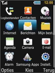 Samsung S5610 Primo - SMS - handmatig instellen - Stap 3