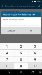 HTC One M9 - Sécuriser votre mobile - Personnaliser le code PIN de votre carte SIM - Étape 8