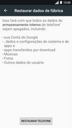 Motorola Moto C Plus - Funções básicas - Como restaurar as configurações originais do seu aparelho - Etapa 8
