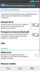 LG G2 - Internet et connexion - Partager votre connexion en Wi-Fi - Étape 5