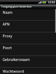 HTC A3333 Wildfire - MMS - handmatig instellen - Stap 8