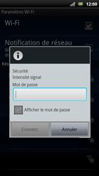 Sony Ericsson Xperia Arc S - Wifi - configuration manuelle - Étape 7