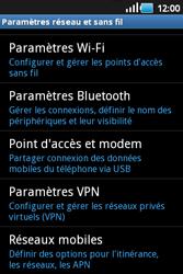 Samsung S5660 Galaxy Gio - MMS - configuration manuelle - Étape 6