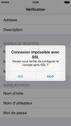 Apple iPhone 5c iOS 8 - E-mail - Configuration manuelle - Étape 14