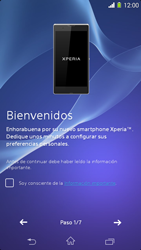 Sony Xperia M2 - Primeros pasos - Activar el equipo - Paso 5