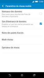 HTC Desire 820 - Aller plus loin - Désactiver les données à l'étranger - Étape 6