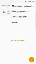 Samsung Galaxy S7 Edge - Mensajería - Configurar el equipo para mensajes de texto - Paso 5
