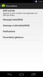 Acer Liquid Jade S - SMS - Configuration manuelle - Étape 6