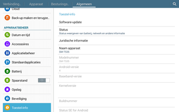 Samsung T535 Galaxy Tab 4 10-1 - Software updaten - Update installeren - Stap 6