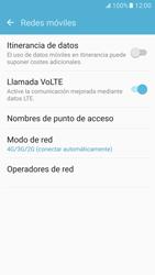 Samsung Galaxy S7 - Red - Seleccionar el tipo de red - Paso 5