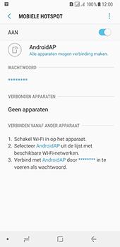 Samsung Galaxy A8 (2018) (SM-A530F) - WiFi - Mobiele hotspot instellen - Stap 12
