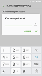 Samsung Galaxy J3 (2017) - Messagerie vocale - Configuration manuelle - Étape 8