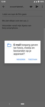 Sony xperia-10-I4113 - E-mail - Bericht met attachment versturen - Stap 11