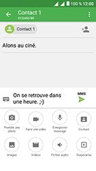 Alcatel U5 - Contact, Appels, SMS/MMS - Envoyer un MMS - Étape 15