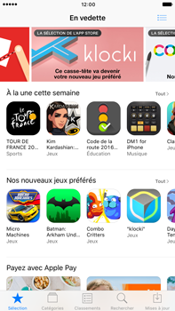Apple Apple iPhone 6 Plus - iOS 10 - Applications - Télécharger des applications - Étape 3
