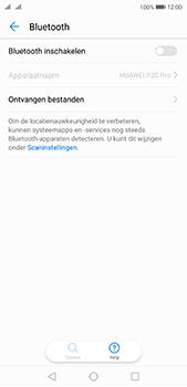 Huawei P20 Pro Dual-SIM (Model CLT-L29) - Bluetooth - Aanzetten - Stap 4