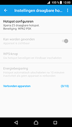 Sony xperia-z5-compact-e5823-android-nougat - WiFi - Mobiele hotspot instellen - Stap 10