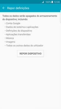 Samsung Galaxy S6 Edge + - Repor definições - Repor definições de fábrica do telemóvel -  7