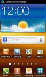 Samsung I9070 Galaxy S Advance - Internet - Automatic configuration - Step 3