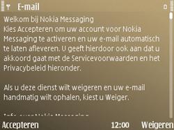 Nokia E72 - E-mail - Handmatig instellen - Stap 12