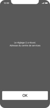 Apple iPhone XS - SMS - Configuration manuelle - Étape 6