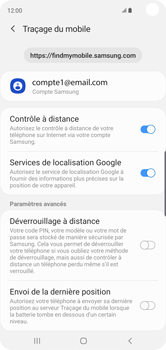 Samsung Galaxy S10 - Appareil - configurer Localiser mon appareil - Étape 8