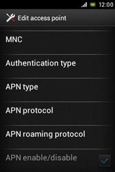 Sony ST23i Xperia Miro - Internet - Manual configuration - Step 14
