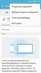 Samsung Galaxy S7 edge - WiFi - Mobiele hotspot instellen - Stap 7