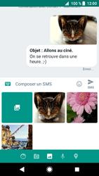 Sony Xperia XZ1 - Contact, Appels, SMS/MMS - Envoyer un MMS - Étape 18