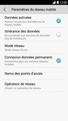 Bouygues Telecom Ultym 5 - Internet et connexion - Désactiver la connexion Internet - Étape 5