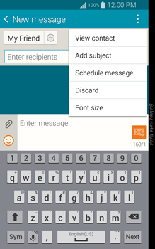 Samsung N915FY Galaxy Note Edge - Mms - Sending a picture message - Step 10