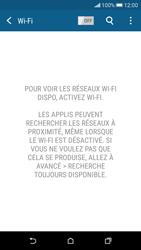 HTC Desire 626 - Internet et connexion - Accéder au réseau Wi-Fi - Étape 5