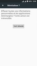 Acer Liquid Z6 Dual SIM - Device maintenance - Retour aux réglages usine - Étape 8