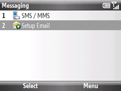 HTC S521 Snap - E-mail - Manual configuration - Step 4