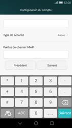 Huawei Ascend G7 - E-mail - Configurer l