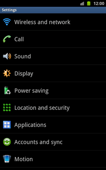 Samsung N7000 Galaxy Note - Voicemail - Manual configuration - Step 4