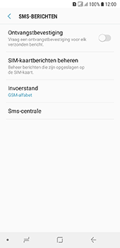 Samsung galaxy-a6-sm-a600fn-ds - SMS - SMS-centrale instellen - Stap 8