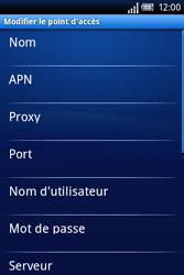 Sony Ericsson Xperia X8 - Mms - Configuration manuelle - Étape 8