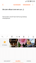 Samsung Galaxy A5 (2016) - Android Nougat - E-mail - Bericht met attachment versturen - Stap 12