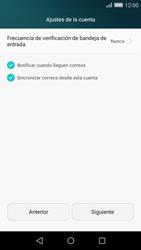 Huawei P8 Lite - E-mail - Configurar correo electrónico - Paso 18
