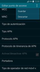 Samsung G850F Galaxy Alpha - Internet - Configurar Internet - Paso 15