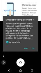 Sony Xperia XZ Premium - Photos, vidéos, musique - Créer une vidéo - Étape 4